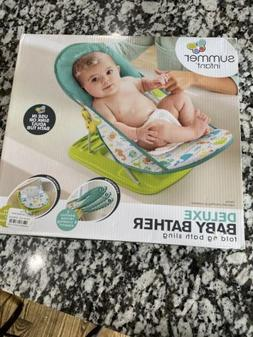 Summer Infant Deluxe Baby Bather- folding bath sling *NEW*