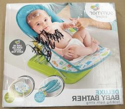 Deluxe Baby Bather Summer Infant Folding Bath Sling New