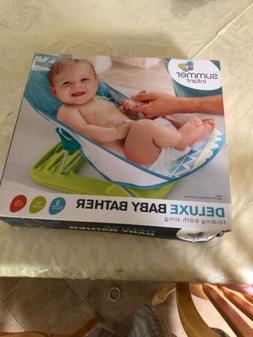 deluxe baby bather folding bath sling