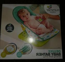 deluxe baby bather nib folding bath sling