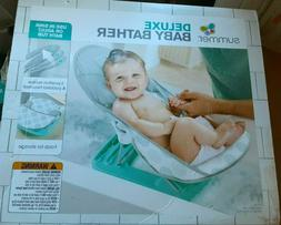 Deluxe Baby Bather Seat Chair Tub Summer Support Newborn Sin