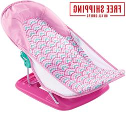 Deluxe Baby Newborn Bather Bath Seat 3-Position Bathing Time