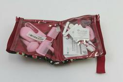 deluxe healthcare and grooming kit raspberry new