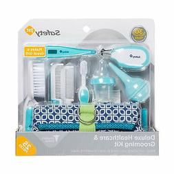 Deluxe Healthcare Grooming Baby Kit Set all-in-one Gift Blue