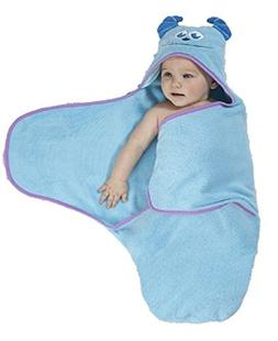 Disney Monsters Inc. Hooded Bath Wrap Towel Fits 0-3 Mo.