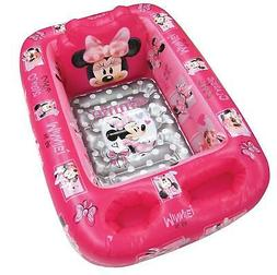 Disney Minnie Mouse Baby Inflatable Bathtub Kid Toddler Bath