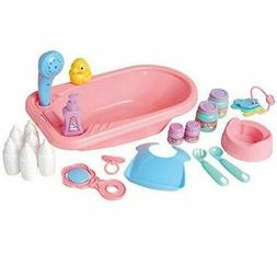 Baby Doll Accessories For Bath time, Feeding And Play Time