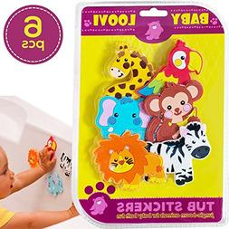 Educational Bath Toys For Toddlers - Bathtub Stickers Girls