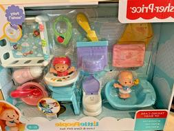 FISHER PRICE LITTLE PEOPLE LOVE & CARE SET 2 BABIES POTTY HI