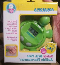 Aquatopia Floating Safety Bath Time Audible Thermometer Alar