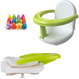 Foldable Baby Bath Seat Baby Bath Tub Ring Seat Infant Bath