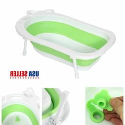 Foldable Baby Bathtub Shower Portable PP Pet Tubs Newborn Ba
