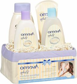 Aveeno Baby  Gift Set 4 Items, Daily Bathtime Solutions For