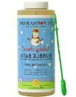 California Baby Holiday Bubble Bath Vanilla Orange and Laven