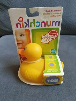 Munchkin Hot Safety Bath Ducky Thermometer/toy for Baby Bath