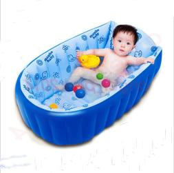 Hot Summer Portable Baby/Kid/Toddler Inflatable Bathtub Newb