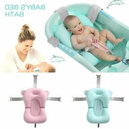 Infant Baby Bath Pad Non-Slip Bathtub Mat Newborn Safe Bath