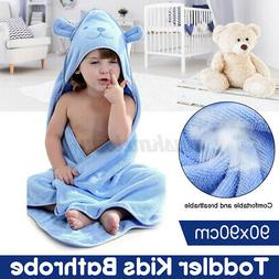 Infant Baby Bath Soft Hooded Towels Blanket 100% Cotton Extr