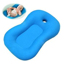 Infant Baby Bath Tub Pillow Padding Soft Lounger Bathtub Sho