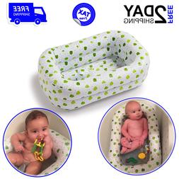 Inflatable Bath Tub For Baby Infant Safety Seat Bathing Newb