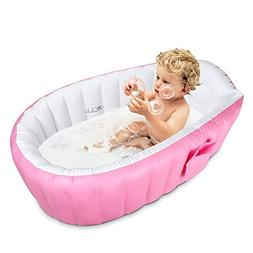 Inflatable Baby Bathtub Topist Portable Mini Air Swimming Po