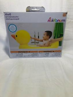Munchkin Inflatable Safety Duck Baby Bath Tub New In Box