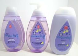 Johnson's Baby Bedtime Lotion + Bath Wash + Shampoo, 13.6 oz
