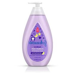 Johnson's Tear-Free Bedtime Baby Moisture Wash with Soothi