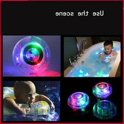 Kids Baby LED Light Color Changing Waterproof Bath Toy Bathr