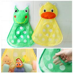Kids Baby Shower Bath Toys Storage Bag Mesh Organizer Net Su