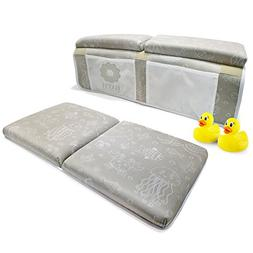 Bath Kneeler and Elbow Rest, Thick Baby Bath Kneeling Pad an