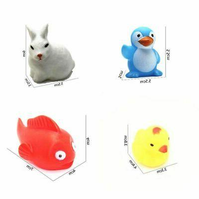 13Pcs Baby Set Voice Floating Squeaky Toy