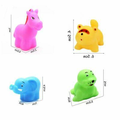 13Pcs Baby Bathing Set Voice Floating Squeaky Toy