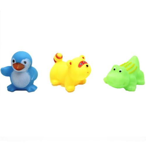 13Pcs Float Sound Baby Wash Bath Play Toys