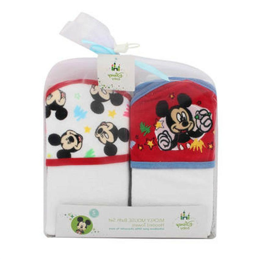 2 pack baby mickey mouse baby bath