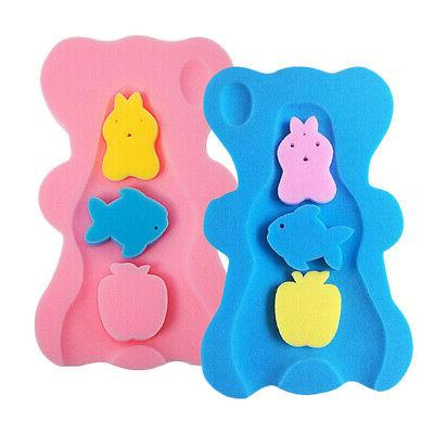 2Pcs Baby Care Sponge Infant Bath Safety Comfy