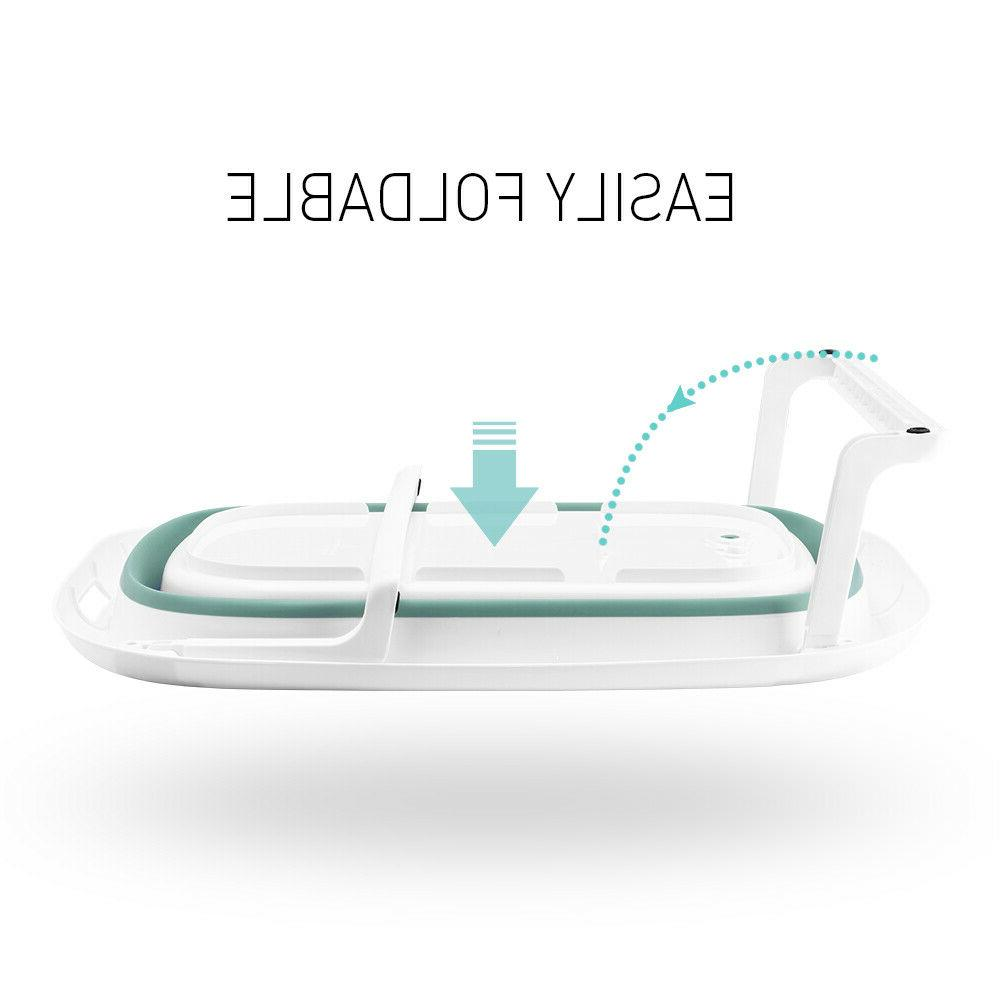 3-in-1 Baby Collapsible Toddler Shower Basin