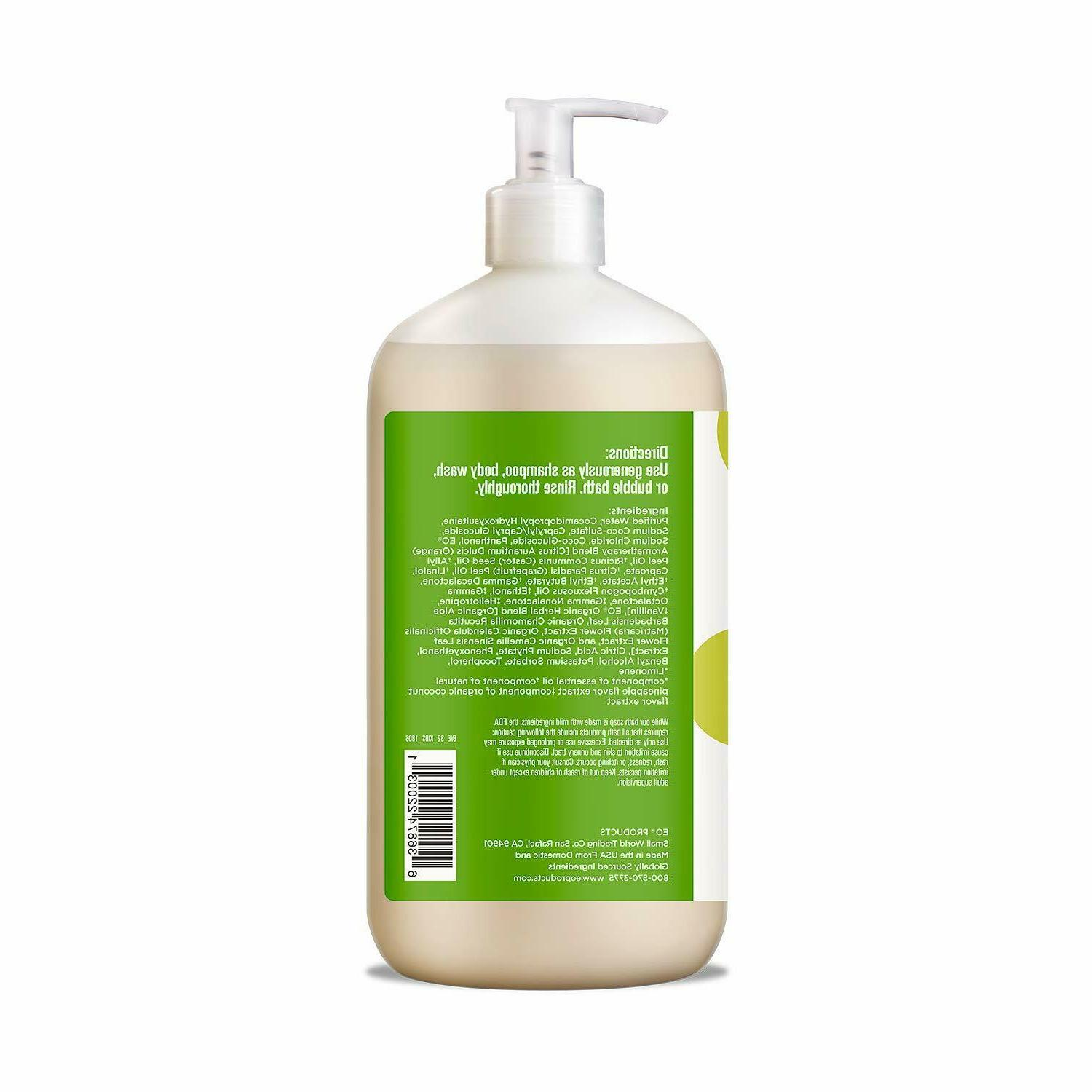 3-in-1 Body and Bubble Bath, Pack