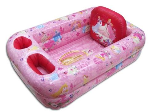 Disney Inflatable Safety Bathtub, Pink