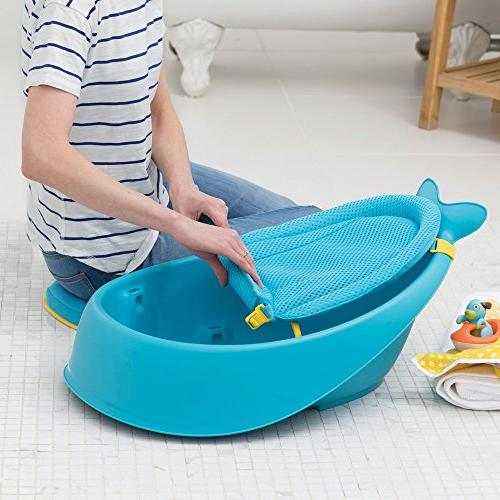 Blue Moby Baby Bath Tub 3 in 1 Smart Sling