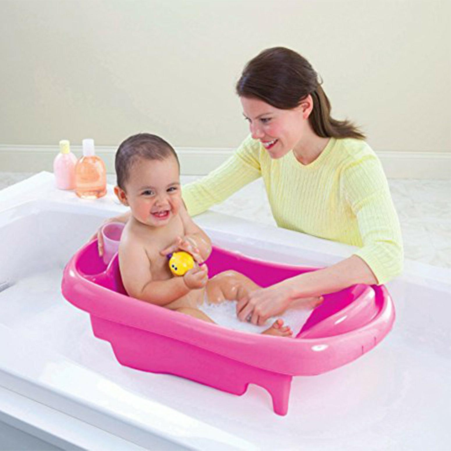 Safety Pink Seat Newborn Shower Toddler