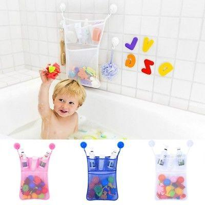 Baby Kids Bathtub Toy Bag Organizer Holder Bathroom