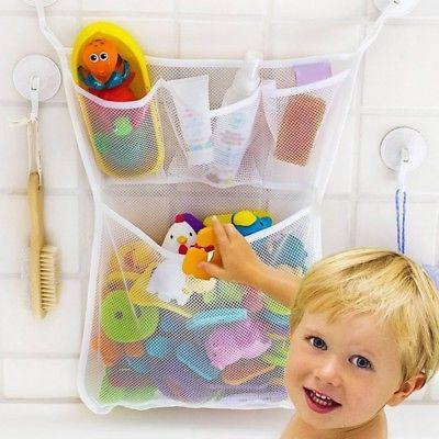baby kids bath bathtub toy mesh net