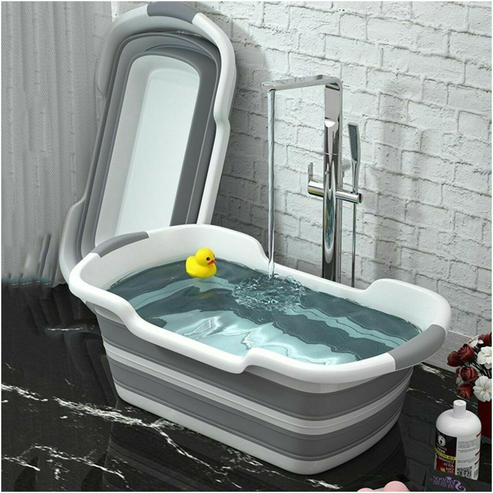 baby shower portable silicone pet bath tubs