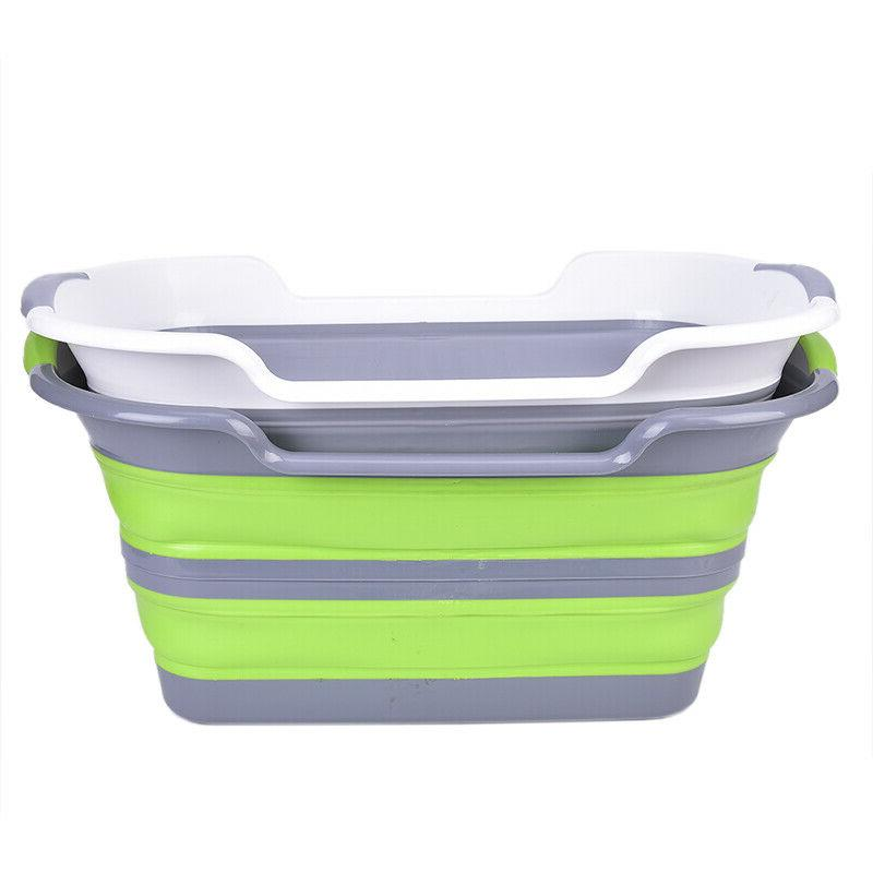 BabyShower Portable Silicone Pet BathTub Folding Non-Slips