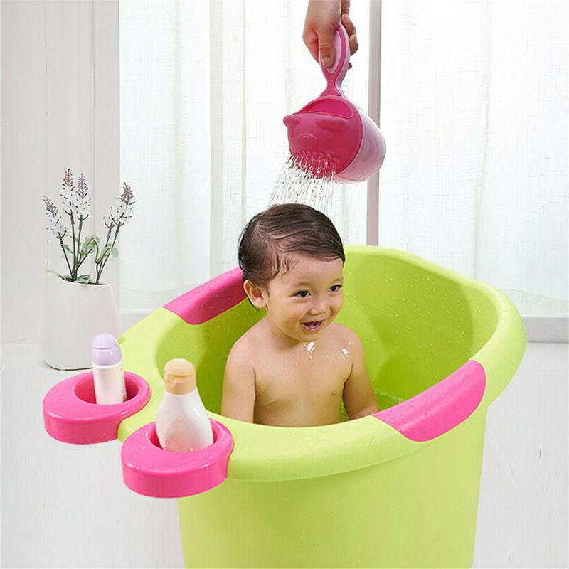 Baby Spoon Cute Shower Bath Water Swimming Bailer Shampoo US