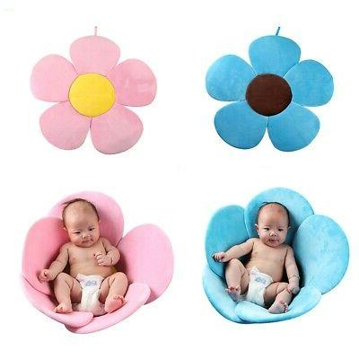 Toddler Baby Bath Tub Safety Foldable Flower Petal Bathtub P