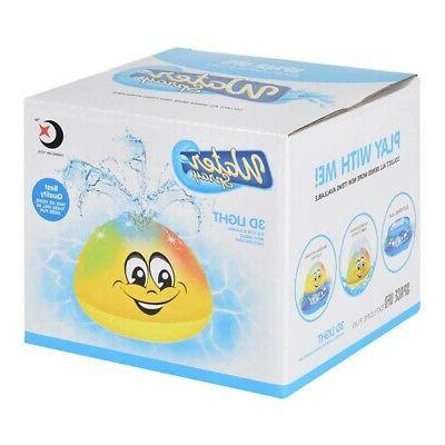 2in1 Spray Water Bath Automatic Sprinkler Show Toys