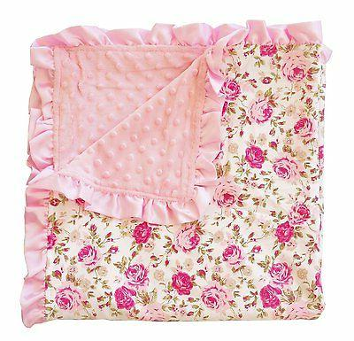 childrens floral minky extra soft