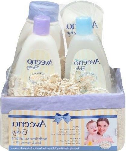 daily bath time solutions gift set to